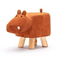 Animal Footstool Ottoman for Kids Cow