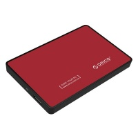 Orico 25 USB30 External HDD Enclosure Red