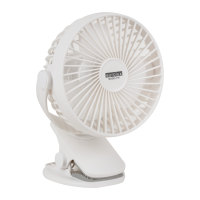 Eurolux Portable Rehargeable Usb Mini Clip On Fan