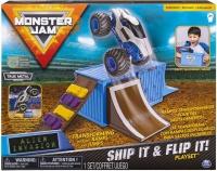 Monster Jam 164 Basic Stunt Playset Alien Invasion