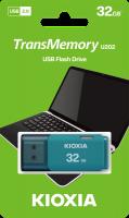 Kioxia 32gb 20 USB Works With Windows Mac Aqua