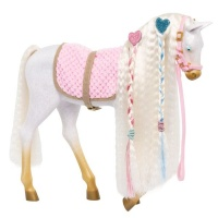 Our Generation Horse Andalusian Hairplay White 12 WAccs