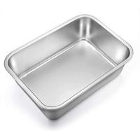 Cater Care Rectangular Steel Dish 400 X 300 X 48MM