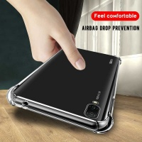 Boo Shockproof TPU Gel Cover for Huawei Y7 2019 Clear