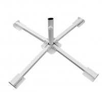 Tempered Iron Patio Umbrella Stand