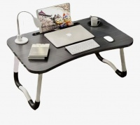 Large Laptop Foldable DeskTable Serving Tray with tablet stand