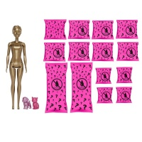 Barbie Day to Night Color Reveal Doll with 25 Surprises Day to Night Transformation