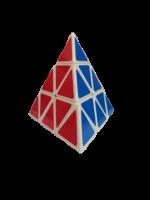 YALLI Magic Cube Pyramid Puzzle Colourful