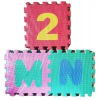 Educational Foam Puzzle Mat Letters Numbers 36 Pieces Medium