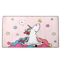 Doormat Pink Fluffy Unicorn