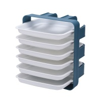 Maisonware 6 Layer Removable Food Tray Storage Rack