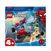 LEGO Marvel Spider Man Sandman Showdown Toy 76172