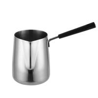 Stainless Steel Coffee Latte Mug Long Handle Coffee Pot 350ml