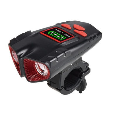 Photo of Multifunctional Portable USB Rechargeable Waterproof Bicycle Horn Light