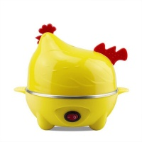 Woo Chicken Shape 7 Egg Boiler Yellow