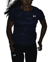 Under Armour Womens Qualifier Iso Chill Embossed Short Sleeve