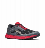 Columbia Mens Caldorado 3 Outdry Trail Running Shoe in Black Bright Red