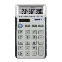 Truly 2010 10 Digit Pocket Calculator