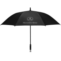 Mercedes Benz Merchandise Heavy Duty Golfing Umbrella Maroon