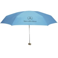 Mercedes Benz Mini Pocket Umbrella Blue