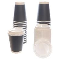 50 Premium Disposable Coffee Cups