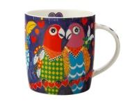 Maxwell Williams Maxwell and Williams Love Hearts Mug 370ml Love Birds