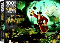 100 Piece Childrens Gold Jigsaw Pirates