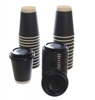 50 Disposable Coffee Cups Eco Friendly