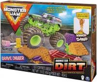 Monster Jam Kinetic Dirt Deluxe Set Gravedigger