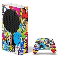 SkinNit Decal Skin For Xbox Series S Sticker Bomb