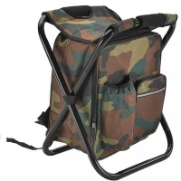 Efficient Camper Camping Stool Chair 3 1 Backpack Cooler and Stool