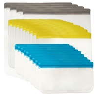 Maisonware 22 Pack Reusable Sealable Storage Bags