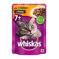 Bulk Pack x 48 Whiskas Cat Food Pouch 85G Chicken In Gravy
