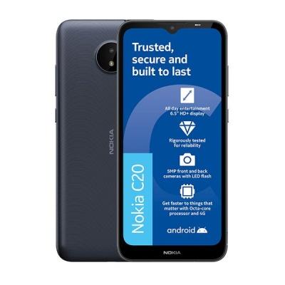 Photo of Nokia C20 16GB - Dark Blue Card Cellphone