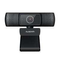 AUSDOM 1080P FHD Wide Angle Desktop Webcam