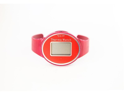 Digital Wine Thermometer RED model