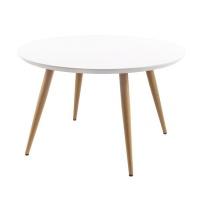 George Mason George Mason Blonde Round Wooden Dining Table