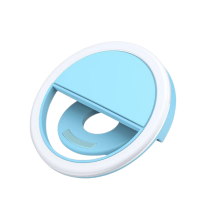 USB Clip On LED Selfie Ring Light For Android And iPhone