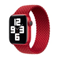 Apple Red Braided Solo Loop Strap for 3840mm Watch S