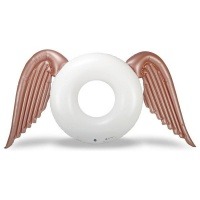 Angel Wings Round Tube Pool Float Swim Ring Swim Tube Large 17 x 11m