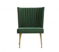 George Mason George Mason Velvet Accent Chair