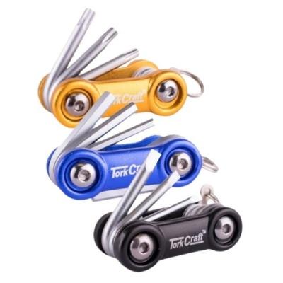 Tork Craft Allen Key Sets 6in1Aluminium Mini Folding Key Set Pack of 3