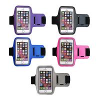 Armband Smartphone Case for Sports 5 Pack PurpleBlueBlackPinkGrey
