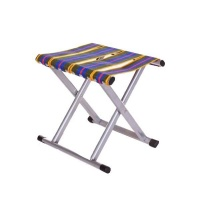 Metal Folding Stool Multicolour Seating