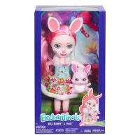 Enchantimals Huggable Cuties Bree Bunny Doll Twist Figure