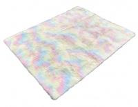 Super Soft and Fluffy Home Décor Non Slip Rug Carpet Rainbow