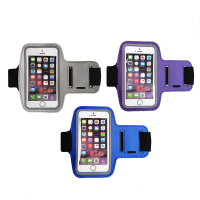 Armband Smartphone Case for Sports Universal Fit 3 Pack GreyBluePurple