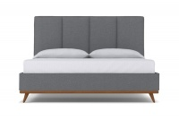 StrohBerry Chicago Linen Headboard Ash Multiple Sizes Available