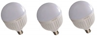 The LED Light Up Store Intelligent 15W Rechargeable LED Screw in Bulb 3 bulbs