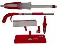 Spray Mop With Window Cleaner Scraper Attachment